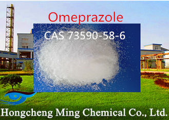 China CAS 73590-58-6 Omeprazole Pepticulcer / Reflux Esophagitis Treatment supplier